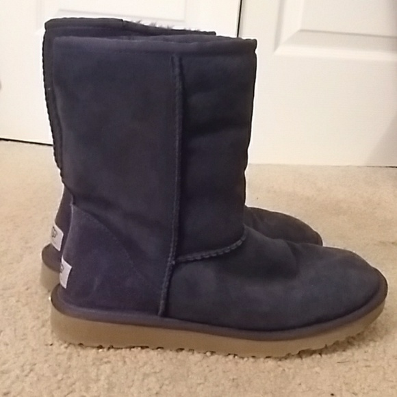 Blue Navy Classic short UGG Boots MqVLUzpGS